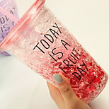 Red Summer Ice Water Cup