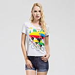 Running T-shirt / Sweatshirt / Jerseys / Tops Women's Short Sleeve Breathable / Quick Dry / Sweat-wicking / Soft 100% Polyester / Elastane