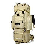 75L L Backpack Camping & Hiking / Traveling Outdoor Waterproof Others Nylon N/A