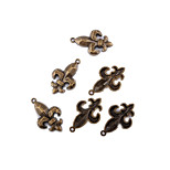 Charms / Pendants N/A Round Shape As Picture 10pcs