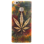 Leaf Painting Pattern TPU Soft Case for Huawei Ascend P9 Lite P9Mini/ P8 Lite P8Mini