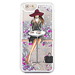 Back Flowing Quicksand  Liquid Other PC Hard Fashion Girl Case Cover For Apple iPhone 6s/6