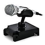 Avec fil-Microphone à Main-Microphone d'OrdinateurWith3.5mm