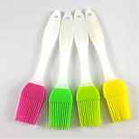 Small Brush Sweep Silicone Silicone Barbecue Sweep 17.5*3.3Cm 20Pcs