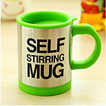 Gifts Stainless Steel Electric Automatic Stirring Coffee Cup Coffee Mugs Lazy Birthday Gift