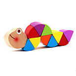 Colorful Caterpillar Wooden Toy