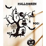 The New Wall Stickers Halloween Stickers Bedroom Sofa Decorative Glass Background Cartoon Sticker