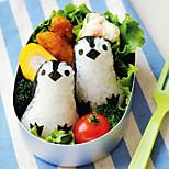 Penguin Shape DIY Kids Bento Rice Mold Suit