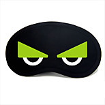 Travel Sleeping Eye Mask Type 0042 Green Owl Eyes