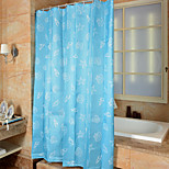 Cartoon Mediterranean Shower Curtains W71