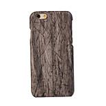 espalda Ultra-Fino de madera PC Duro ultra-thin Cubierta del caso para Apple iPhone 6s Plus/6 Plus / iPhone 6s/6 / iPhone SE/5s/5