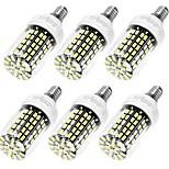 10W E14 / E26/E27 Bombillas LED de Mazorca T 108 SMD 5733 950 lm Blanco Cálido / Blanco Fresco Decorativa AC 100-240 V 6 piezas