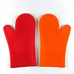 Creative Kitchen Gadget / Melhor qualidade / Alta qualidade Longer Section Large Silicone Glove Silicone 30*19