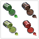 1 Bottle Nail DIY Beautiful Color Colorful Laser Glitter Powder Nail Beauty Decoration L05-08