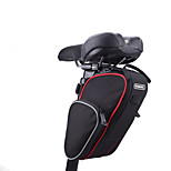 Roswheel® Folding Bike Saddle Bag Mountain Road Bicycle Tail Bag Saddle Bag Pouch Cycling Seat Bag Black