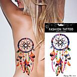 5Pcs Dreamcatcher Tattoo Feather Decal Dream Catcher Women Body Art Makeup Tool Temporary Tattoo Sticker