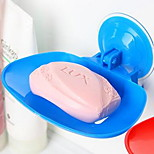 2600 Incognito Five Color Kitchen Bathroom Powerful Vacuum Suction Cup Soap Holder Soap Dish 38g Collapsible