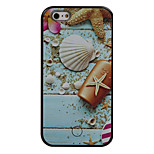 The New Shell Pattern Painted Camera Fill Light Phone Case For iPhone 5/5S/SE/6/6S/6 Plus/6S Plus