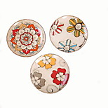 Hanging Retro Personalized Hand-painted Ceramic Plate (Random Colors)