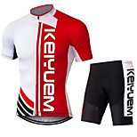 KEIYUEM®Others Summer Cycling Jersey Short Sleeves + Shorts Ropa Ciclismo Cycling Clothing Suits #77