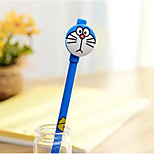 Cute Cartoon Cat Doraemon A Dream Black Gel Pen Water Pen 0.5Mm