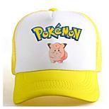 Pocket Little Monster Jigglypuff Yellow-White Adjustable Tennis Cap