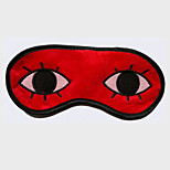 Gintama Okita Souji Red Flannel Sleeping Eye Mask