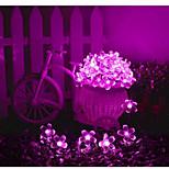 1 Luces LED Solares 100 lm Blanco Cálido / Blanco Natural / Rojo / Azul / Morado / Rosa SMD 3528 Impermeable <5V V 1 piezas