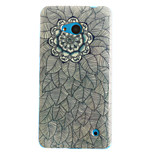 Flowers Pattern TPU+IMD Soft Case for Multiple Nokia Lumia 640/N535/N630/N530
