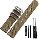 New For Suunto essential Core Watch Band 24MM Nato Nylon Strap+Adapters+Lugs+Tools For Suunto Core