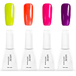 12ml Azure Summer Color Nail Polish 4PCS Soak off UV Gel Nails Art Decoration NO.4