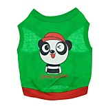 Gatti / Cani T-shirt Verde Estate Fantasia animale Di tendenza-Pething®, Dog Clothes / Dog Clothing
