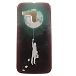 espalda IMD Globo TPU Suave Cubierta del caso para Motorola Moto G