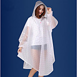 Korean Fashion Transparent Raincoat Eva Raincoat Poncho Adult Siamese Motorcycle