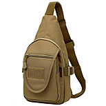 10 L Sling & Messenger Bag Camping & Hiking Outdoor Waterproof Khaki