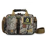 8 L Shoulder Bag Camping & Hiking Outdoor Waterproof / Shock Resistance Camouflage Oxford