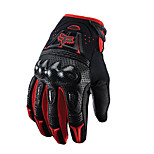 Mottled Carbon Fiber Shell Gloves Motorcycle Gloves Abrasion Resistant Racing Gloves Non-Slip Off-Road Riding Gloves