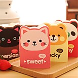 Korea Stationery Mini Notepad Gift Animal Avatar Cartoon Book