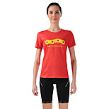 Sportif Vélo/Cyclisme Maillot + Short/Maillot+Cuissard / Hauts/Tops / Bas Femme Manches courtes Respirable / Anti-transpiration Elasthanne