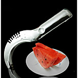 Food Grade Thicken Stainless Steel Fruit Cut Large Size Watermelon Cut Honeydew Slicer 90G