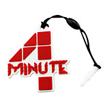 4minute LOGO Mark Phone Dust Plug