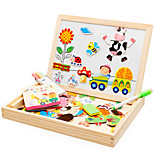 Happy Farm Magnetic Double-Sided Sketchpad
