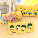 Fresh Small Cute Little Wooden Cartoon Fridge Magnet Korea Magnetic Stickers 4 Into