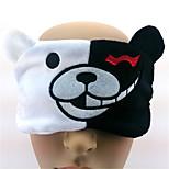 Monokuma Flannel Sleeping Eye Mask