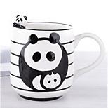 Housing Panda Cows Amusement Park Tea-Cup Stereo Cup