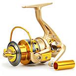 Carrete de la pesca Carretes para pesca spinning 5.5 6 Rodamientos de bolas Intercambiable Pesca en General-BASIC 2000