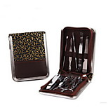 Beauty manicure kit Nail clippers nails nail clipper leather box of nine times
