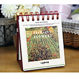 Lianhua Van Gogh Retro Coil 100-Day Plan Of The Calendar Schedule Book Notepad