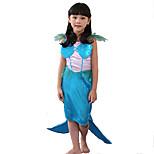 Girls Mermaid Princess Dresses