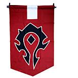 World Of Warcraft Red Terylene Alliance War Flag